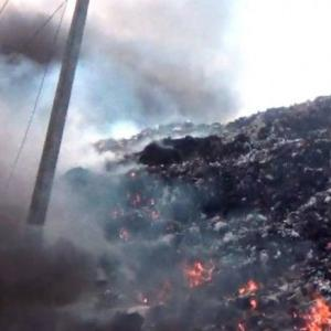 Fire breaks out at Koh Tao garbage dump