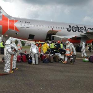 Emergency Landing of Jetstar Pacific in Chiang Mai