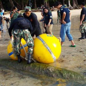 Navy wary of 'wrong move' with Phuket beach torpedo