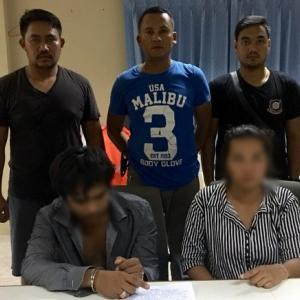 Man, 20, and woman, 27, arrested with 195 ya bah pills in Pa Khlok