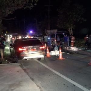 Russian tourist and two Thai men killed in motorbike accident on Koh Samui