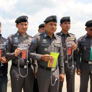 Pattaya Police show their softer side