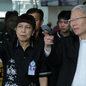 Transport chiefs inspect Phuket airport, bus terminal