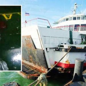 Raja Ferry plays down safety fears after video of car deck flooding and ship listing on way to Samui