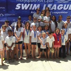 Samui Sharks Swim Team Sweeps to1st Place!