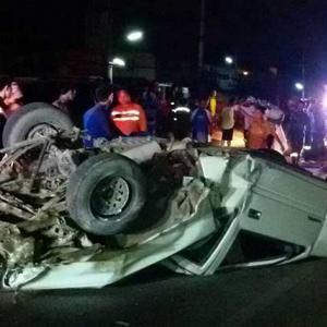 British Benz driver sought after fatal Chiang Mai smash