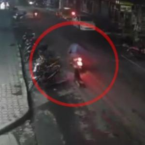 Two arrested for dragging woman behind motorbike during botched robbery attempt