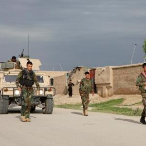 Mourning declared after scores of troops die in Afghan base attack