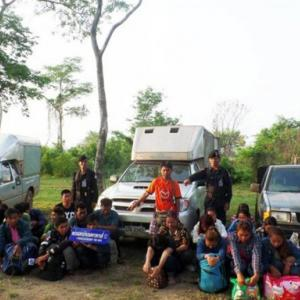 277 more Cambodians detained in Sa Kaew for illegal entry