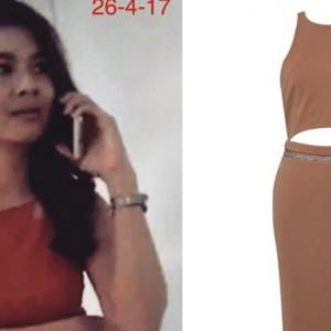 Famous designer Vatanika shames Thai woman who stole dress, replaced it with copycat