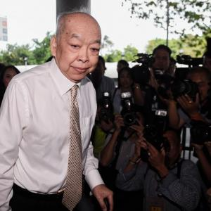 Former FM Surapong given two-year jail sentence in Thaksin passports case