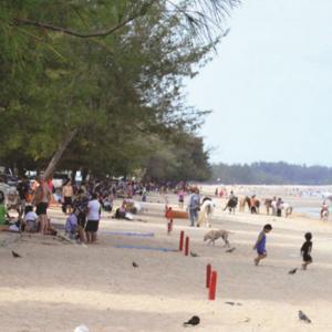 Beach Calming Cha-Am