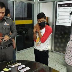 Phuket police nab armed robber just hours after holding up Thalang 7-Eleven
