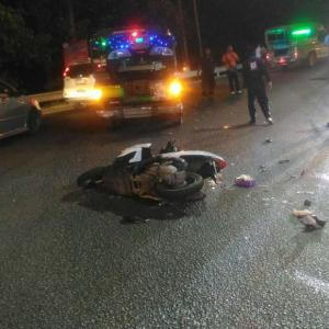 Two Russian tourists die in Patong Hill crash