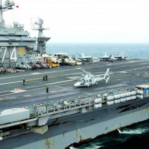 US aircraft carrier anchors in Laem Chabang to kick off Cobra Gold
