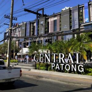 Patong traffic alert for Central opening