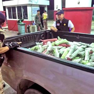 Two arrested with 100 kilograms of kratom in Phuket