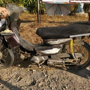 Elderly motorbike driver dies in Thalang crash