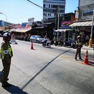 Police investigate motorbike hoons in Patong