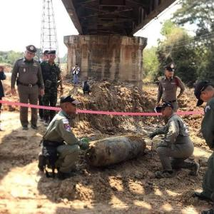 Unearthed WWII bomb finally ready to blow