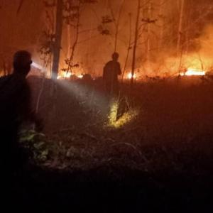 Mae Hong Son continues to reel under man-made fires