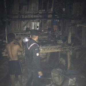 Karen war refugees lose homes in incidental fires