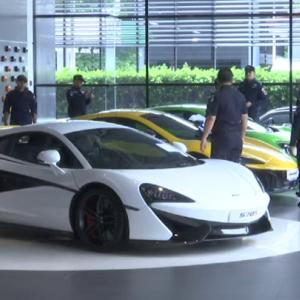 DSI seizes 160 supercars in a week