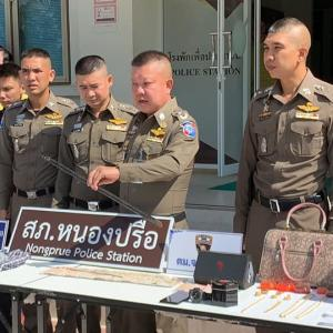 Suspects arrested after breaking into Irish man's house in Chon Buri