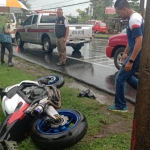 Teen seriously injured in Kathu motorbike crash