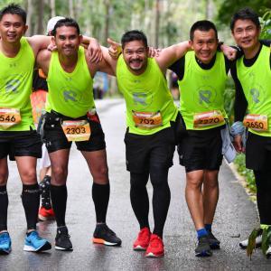 Filipino and Japanese battle the weather in the 2019 Laguna Phuket Marathon
