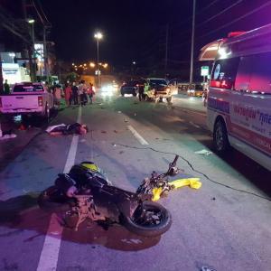 German motorbike driver dies on Patong Hill, Phuket