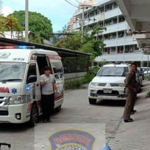 Russian man collapses, dies next to Patong Police Station