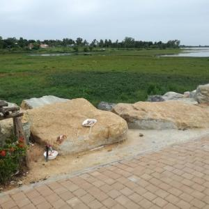 Trash bins now, benches later for Chak Nok Park