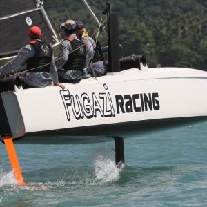 White caps & tight racing – Day two of the Multihull Solutions Regatta in Phuket