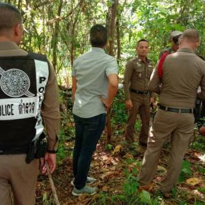 Human skeleton found near housing estate in central Phuket