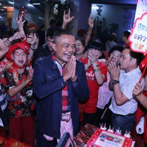 Red-shirt leader Jatuporn suggests opposition MPs shape up and focus on real issues