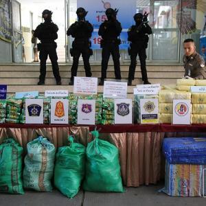 Politician sought after quartet arrested with large drugs haul