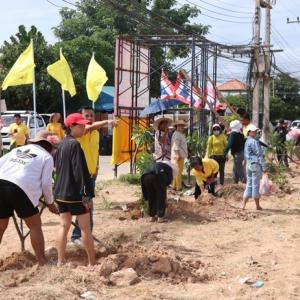 Nongprue village cleans up