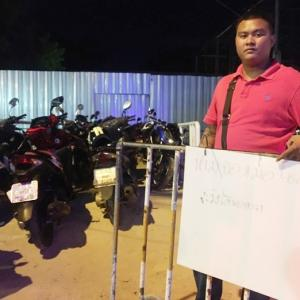 Defiant developer claims Pattaya 'envelopes' allow closed building site to open as parking lot