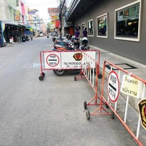 Pattaya hotel's parking barriers removed
