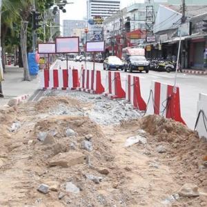 7 months of roadwork begins on Beach Road