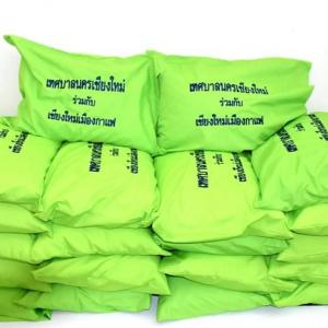 Making pillows out of straws: a Chiang Mai municipality pedals ahead with recycling