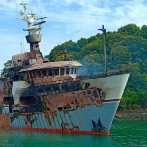 Fire on board Phuket superyacht Lady D finally out, investigation begins