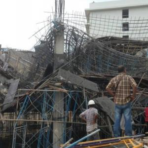 At least one dead, 10 injured as building under construction collapses in Phuket