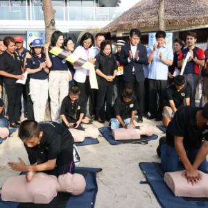 Public healthcare pilot project aims to make Patong beach safe for tourists
