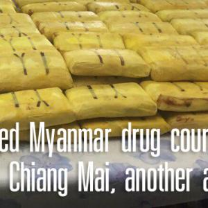 Suspected Myanmar drug courier shot dead in Chiang Mai, another arrested
