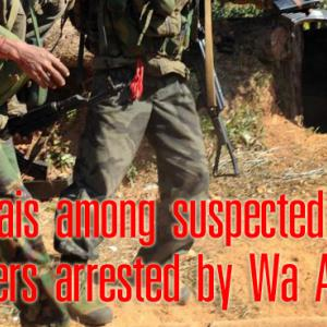 14 Thais among suspected drug couriers arrested by Wa Army