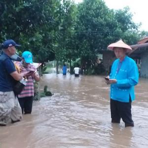 Mae Hong Son school damaged by flooding