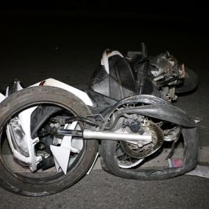 Two injured in late night motorcycle accident