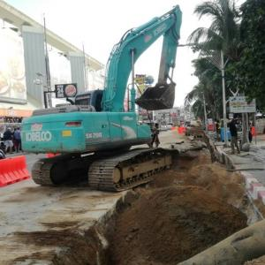 Drivers advised to avoid Pattaya Beach Road until next year